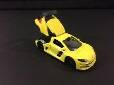 Majorette Renault Megane Trophy ech:1/64 Car Model Yellow Racing Diecast