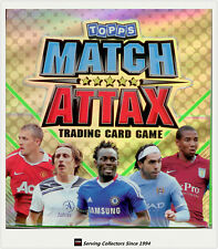 2 Boxes of 2010-11 Topps Match Attax Card Game Factory Box (24 packs x 2)