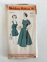 Vintage 50/'s Swimsuit sewing pattern BLACKMORE Playsuit Bathing suit Beach B36