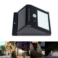 20 LED ad energia solare luce giardino esterno sicurezza luce lampada parete WL0