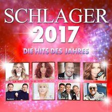 SCHLAGER 2017 - DIE HITS DES JAHRES * NEW 2CD'S+DVD 2017 * NEU