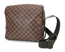 Authentic LOUIS VUITTON Naviglio Damier Ebene Crossbody Shoulder Bag #36820