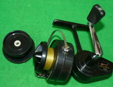 A vintage French Garcia Mitchell 320 spinning reel & spare spool