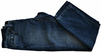 Jaens Uomo Blu Jaggy Jeans Men Blu Mcqueen Slim Bugi Fisso Blue