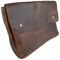 Calyx Vintage Leather Document Portfolio Holder File Case Office Work Essentials