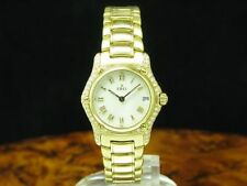 EBEL 1911 18kt 750 Gold Watch With Brilliant Decorations / Ref 888944/Caliber 88