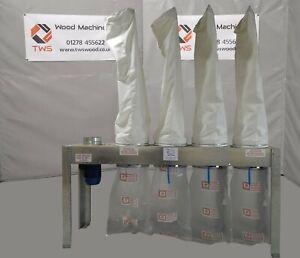 New Air Plants D5000 4 Bag dust extraction unit *£2,850 Plus VAT*