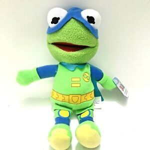 Muppet Babies Plush Figure The Froginizer Kermit the Frog Plush NEW with Tags