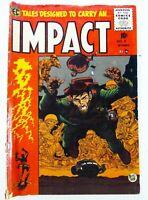 EC Comics IMPACT (1955) #4 GOLDEN AGE VG- (3.5) Ships FREE!