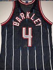 Charles Barkley Signed Houston Rockets Champions Jersey PSA/DNA