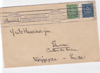 yugoslavia capajebo sarajevo 1934/35  to switzerland stamps cover ref r14924