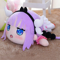 Hot Miss Kobayashi's Dragon Maid Kanna Cosplay Plush Stuffed Doll Toy Pillow New