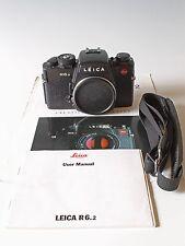 LEICA R6.2 BLACK CAMERA BODY Nice Worldwide Shipping