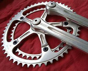Pédalier double plateaux MAVIC 52/42 dents long 170 vélo course vintage