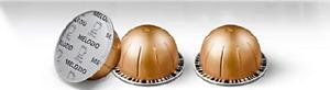 Nespresso Capsules VertuoLine, Melozio, Medium 11 pods Best By 4/30/2021