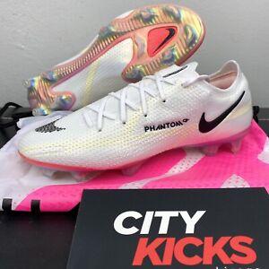 New Mens Nike Phantom GT2 Elite FG Sz 7 Soccer Cleats White Crimson CZ9890 121