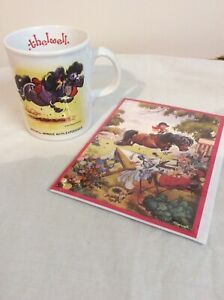 Thelwell Ponies Mug And Greetings Card