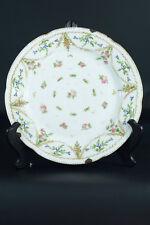 Porcelaine De Paris  Manufacture LOCRE LA COURTILLE ASSIETTE Louis XVI Plate 18c