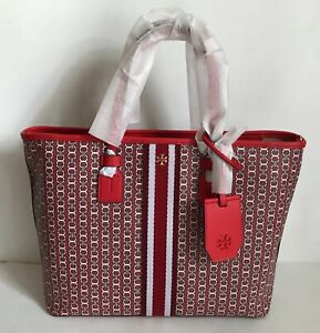 NWT!!Tory Burch Small Gemini Link Canvas Tote In 6 Colors