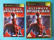 ULTIMATE SPIDER-MAN MARVEL COMPLETE BOXED Original Microsoft Xbox PAL Video Game