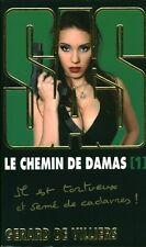 Livre de poche SAS le chemin de Damas  tome 1 G. De Villiers book