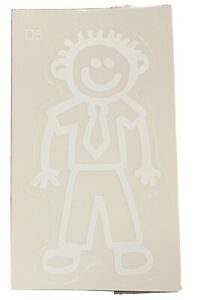 Our Family Car Stickers Dad 5 - Wearing Tie Brand New