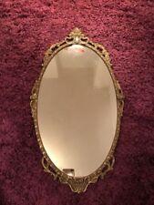 Vintage/Retro Oval Fireplace Mirror Decorative Mirrors