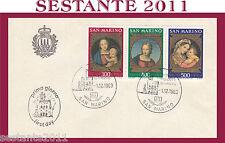 SAN MARINO FDC NATALE RAFFAELLO SANZIO 1983 (406)