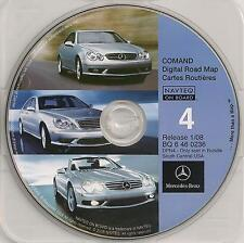 2008 Update Mercedes CD Base Navigation Map #4 Cover TX OK AR LA MS +Partial TN
