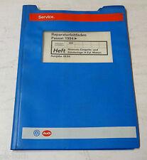 Werkstatthandbuch VW Passat B4 Motronic Einspritzanlage Zündanlage 4 Zylinder
