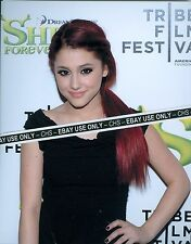"ARIANA GRANDE SEXY!! COLOR CANDID 8x10 PHOTO ""VICTORIOUS"" ""SAM & CAT"" #003"