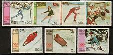 Kampuchéa SG788/94 1987 Juegos Olímpicos de Invierno estampillada sin montar o nunca montada