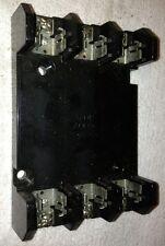 SQUARE D 9080 FB3611 10 Awg FUSEHOLDER 600V 30A #1640M