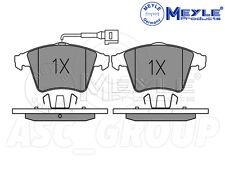 Meyle Set Pastiglie dei Freni, asse anteriore con piastra anti-Squeak 025 237 4618/W