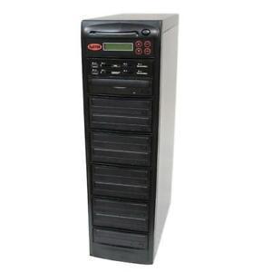 SySTOR 1-9 MultiMedia PLUS - Flash Memory to Disc Backup DVD Duplicator