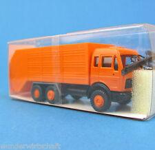 Roskopf H0 443 MERCEDES MÜLLAUTO Moser Orange Müllwagen LKW HO 1:87 RMM MB Box