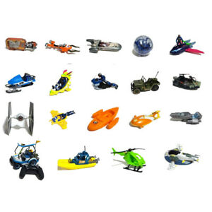 "Small to Medium Space ships single person vehicles for 1:18 3 3/4""  - Choose"