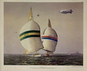 americas cup 1983 Poster Australia 2