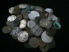 Huge lot 106 Medieval coins CRUSADER coin lot mixed XI-XVI century silver bronze