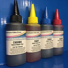 4 x Printer Refill INK Bottles for Canon Pixma TS 8050 8051 8052 8053 Cartridges