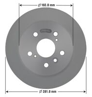 Disc Brake Rotor-Disc Rear OMNIPARTS 13060002