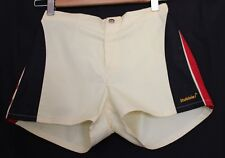 VINTAGE 1980's SURFIN' STUBBIES ~ Boys Lemon Yellow Black Red Shorts NWT 10