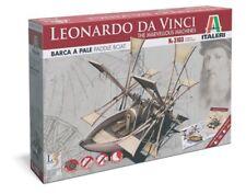 Barca a Pale di Leonardo da Vinci - Italeri