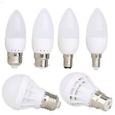 B22 E27 E14 B15 LED Globe Bulbs Candle Light 3W 5W 7W 9W 12W 5730 SMD Lamp RM39