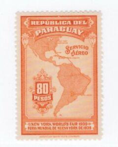 Paraguay,Scott#C125,80p,MH