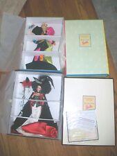Lot of 2 MASQUERADE GALA ILLUSION BARBIE 1997 & Rendezvous Barbie 1998