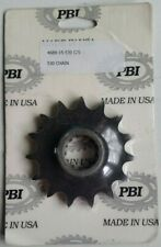 15T Front Countershaft Sprocket 496-15 PBI Made In USA