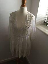 LAST ONE!! BN Stunning V Neck, Bobbled Italian Top Or Short Dress Medium Size