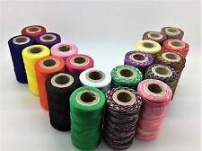 20 X Art Silk Rayon Machine Embroidery Variegated Thread Spools Assorted Colours
