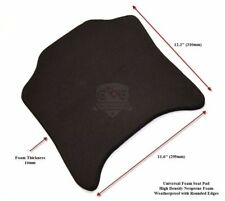 Track Bike Motorcycle Racing Seat Pad Density Foam 16mm with Adhesive Backing